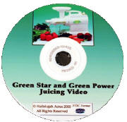 Green Star & Green Power VHS Video: How to use your Juice Extractor