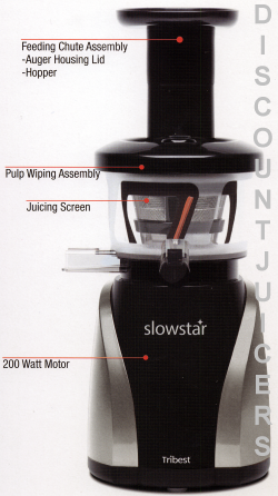 Slowstar Juicer Parts sw2020
